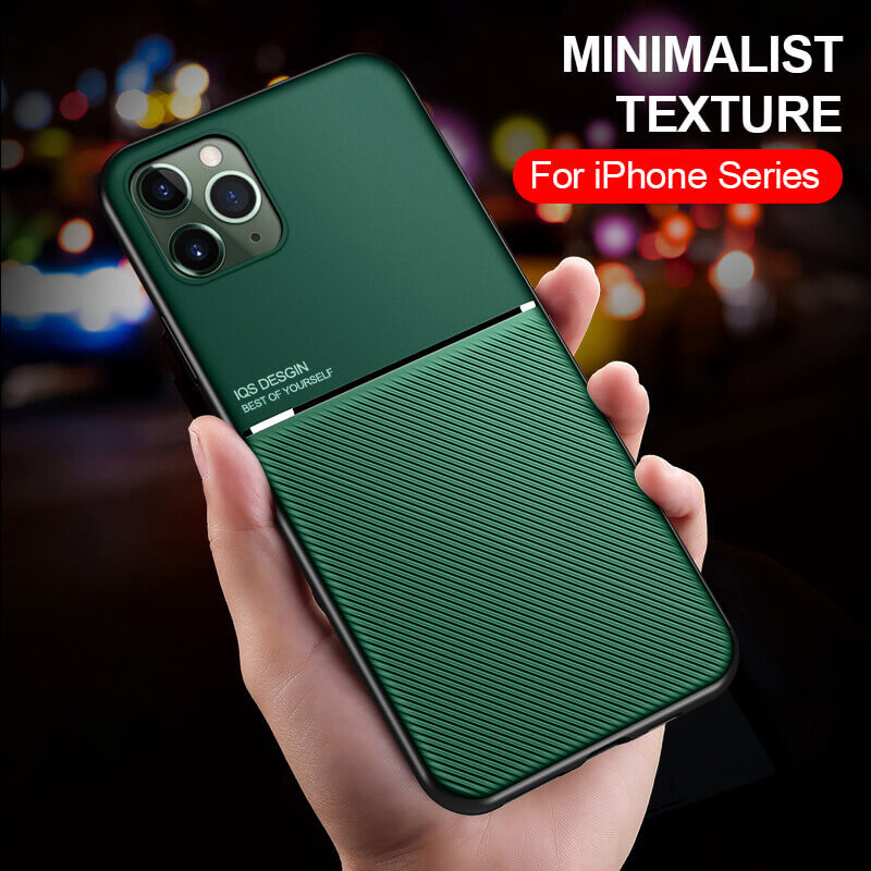 Magnetic Flip Phone <font><b>Case</b></font> for <font><b>iPhone</b></font> 11 Pro XS Max XR X 7 8 6 plus Hard Back Cover <font><b>Case</b></font> on aiphone 11 Pro iphone11 <font><b>7Plus</b></font> 8Plus 10 image