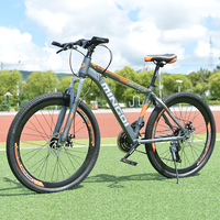 Mountain bike 24 velocidade freios a disco mecânico 26 polegada velocidade variável unidade de bicicleta estudantes do sexo masculino e feminino ciclismo mtb bicicleta