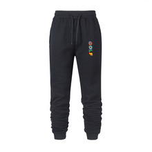 2020 new men's autumn and winter sports pants letter print golf Harajuku cotton men's guard pants high quality sports pants
