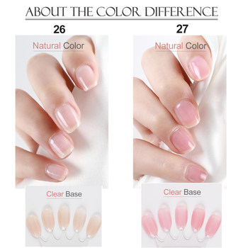 COSCELIA 40pcs/set Gel Nail Polish Set Nail Art Set For Gel Varnish Hybrid For Nail Art Manicure Set Semi Permanent UV Gel 4