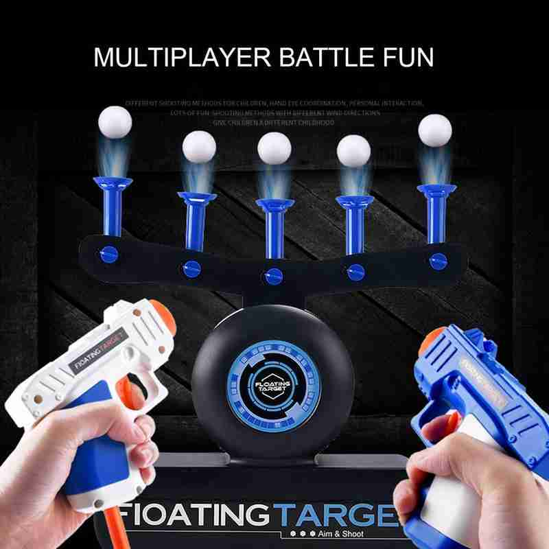 Electric Suspension Ball Dart Target For Gun Toys Hover Shot Outdoor Toy For Kids Shooting Target Floating Ball Practice Toys