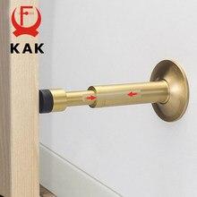 KAK pur cuivre tampon hydraulique muet arrêt de porte plancher mural butoir porte butoir Non magnétique porte tactile matériel