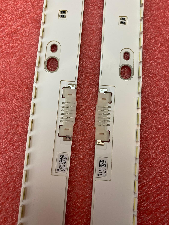 New LED backlight strip for Samsung UE49KU6450 UE49KU6452 UE49KU6459 UE49KU6400 UE49MU6500 UE49MU7400 UE49KU6670U UE49KU6500