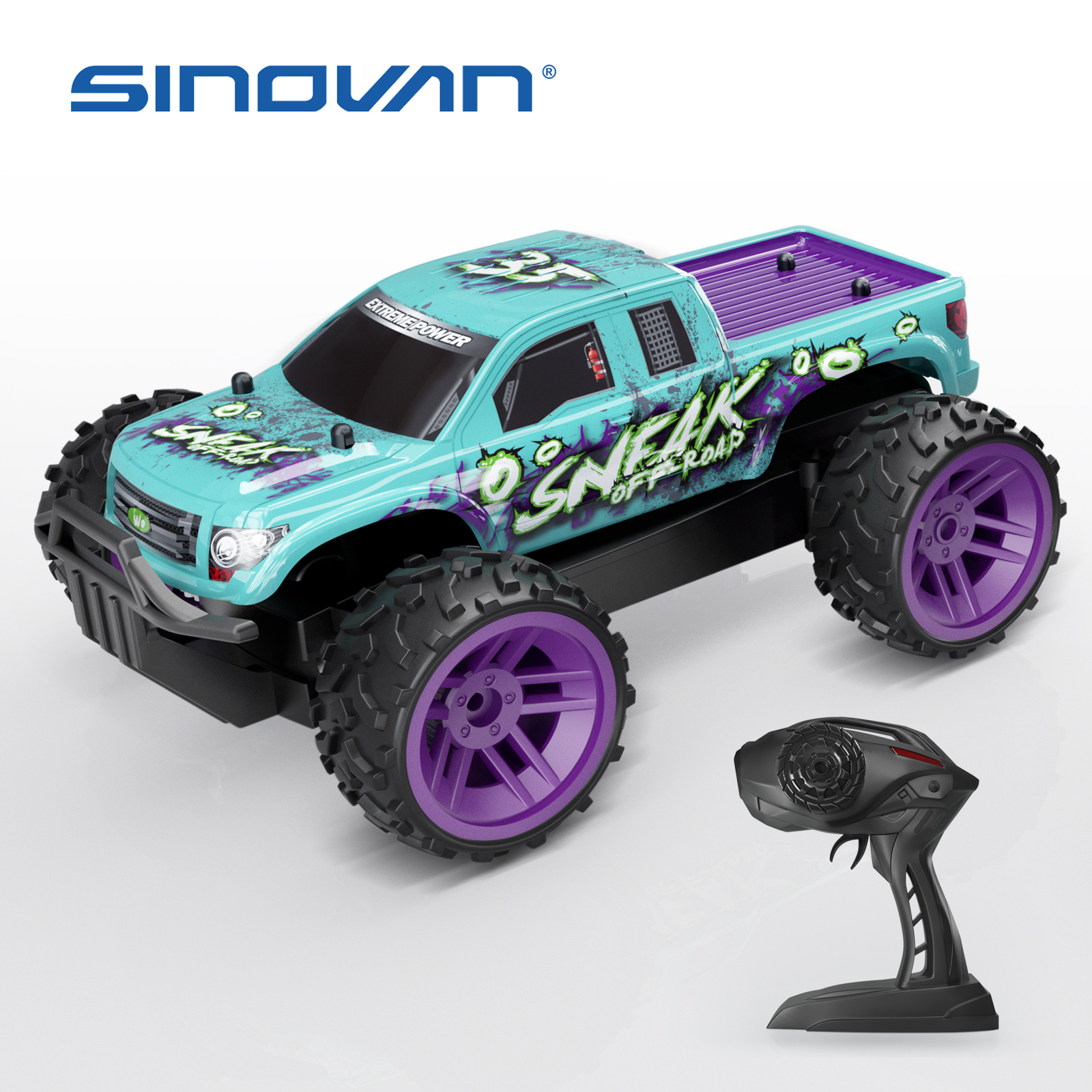Sinovan RC Cars 2.4GHz High Speed RC Car 1:36 Remote Control Car Toys for Kids Cool Off Road Rar Children's Toys Gifts