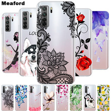 For Honor 30S Case Transparent Soft TPU silicon Phone Cover For Huawei honor 30S Case 30 S CDY-NX9A Russian 2020 Clear Fundas