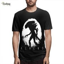 ALIEN Covenant t shirt Homme Tee Shirt Crewneck Male Leisure 3D Print Graphic Tee For Man graphic embroidery ringer tee