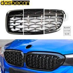 Dasbecan parrilla delantera de carreras de coches para BMW Serie 3 F30 F31 F35 320i 328i 335i 2012-2018 rejillas de repuesto de riñón