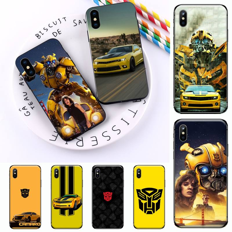 Bumblebee Transformers Phone Case for iPhone 11 12 pro XS MAX 8 7 6 6S Plus X 5S SE 2020 XR