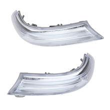 Sinal de seta lateral espelhado para carro, luzes para passat b5/b6 golf 5/6 v/vi sharan 2010-2019 estilo do carro