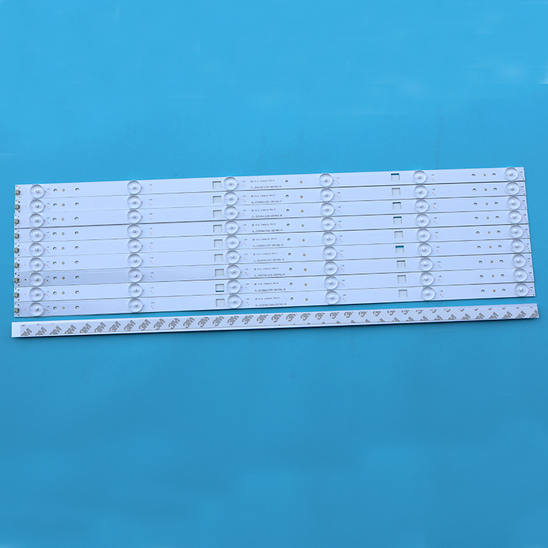 New LED Backlight Strip 6 Lamp 59.6cm Aluminum Substrate LED Baclkight Bar Jl. D32061235-057as-m