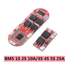BMS 1S 2S 10A 3S 4S 5S 25A Bms 18650 Li-ion Lipo Lithium Battery Protection Circuit Board Module Pcb Pcm 18650 Lipo Bms Charger