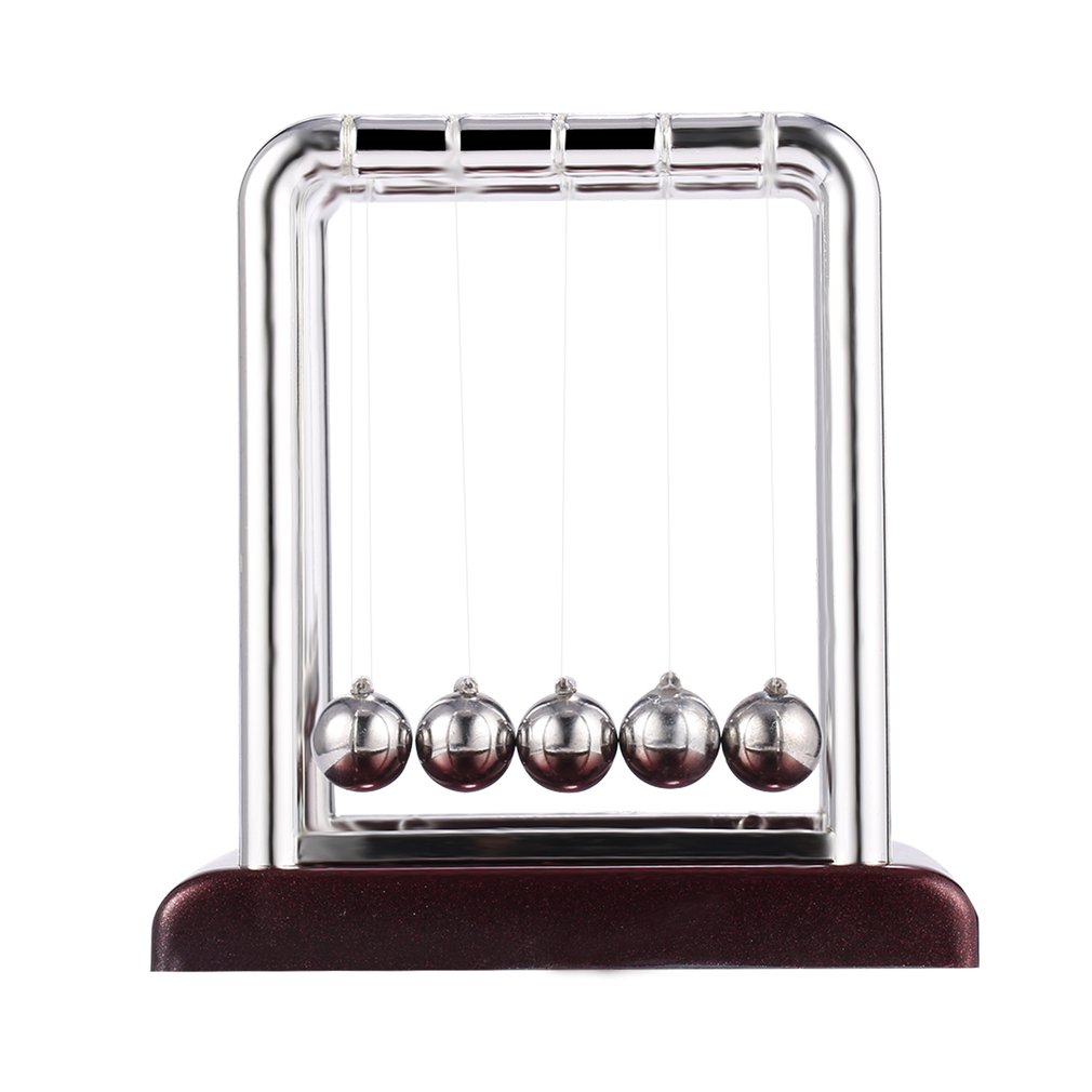 Newton Teaching Science Desk Toys Cradle Steel Balance Ball Physic School Educational Supplies Cradle Balance Balls Desk Toy