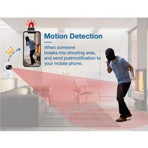 Image 4 - Techage 1080P bezprzewodowa kamera IP niania elektroniczna Baby Monitor 2MP kopułkowa wideo CCTV nadzoru dwukierunkowe Audio bezpieczeństwo w domu kamera Wifi