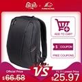 Kingsons, яркий черный рюкзак для ноутбука, мужской повседневный рюкзак, дорожная сумка, школьные сумки, 14 дюймов, женский рюкзак, Mochila Feminina - фото