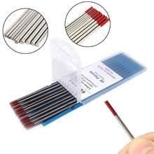 Tiges d'électrode en tungstène thorié WT20 à haute conductivité pour le soudage de l'acier au carbone et de l'alliage de cuivre, 10 pièces