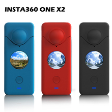 Case Camera-Accessories Insta360 One Lens-Cover Protective-Sleeve Silicone X2 for Shell