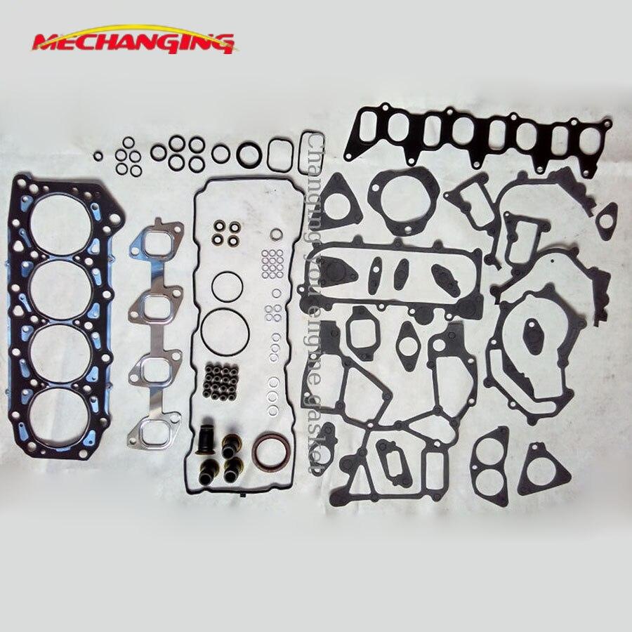 ZD30 ZD30DDTI для NISSAN CABSTAR 3.0L металлический Полный комплект деталей двигателя автомобильные запчасти прокладка двигателя 10101-2W225 51032300