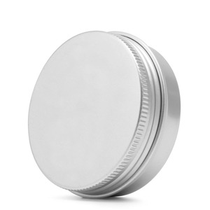 10/15/30/50/60/80/100/150/200/250 ML Durable Aluminum Cosmetic Pot Lip Balm Jar Containers Oil Wax Empty New