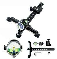 4x lentes de objetivo agujas de puntería Vista de arco compuesto para arquería caza accesorios para lazos compuestos