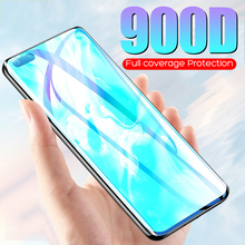 900D Full Coverage Fiml On For Huawei P40 P30 P20 P10 Pro Lite Screen Protector