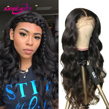 Body Wave 5x5 HD Transparent Lace Closure Wig Brazilian Virgin Human Hair Wig 13x4 Lace Frontal Wigs for Women Natural Color