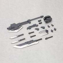 Montado msg mh03 MH-03R acessórios conjunto espada combinação grande espada arma saco