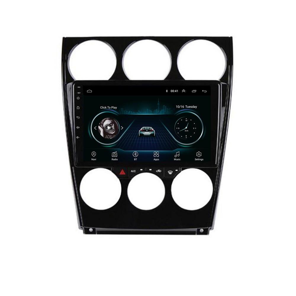 """9 """"4G LTE Android 8.1 pour Mazda 6 2002 2003 2004 2005 2006 2007 2008 lecteur DVD de voiture multimédia Navigation GPS Radio"""