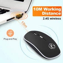 Wireless Silent Computer Mouse