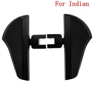 Image 4 - Motorcycle Passenger Floorboard Footrest Footpeg Pedal For Indian For Harley Touring Electra Glide Dyna Street Bob FXDB Fat Bob