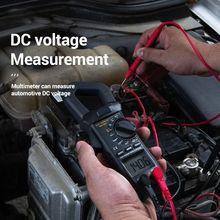 1PCS Mini Digital Clamp Meter AC/DC True Strom Spannung RMS Auto Range VFC Kapazität Kontaktlose Multimeter clamp meter