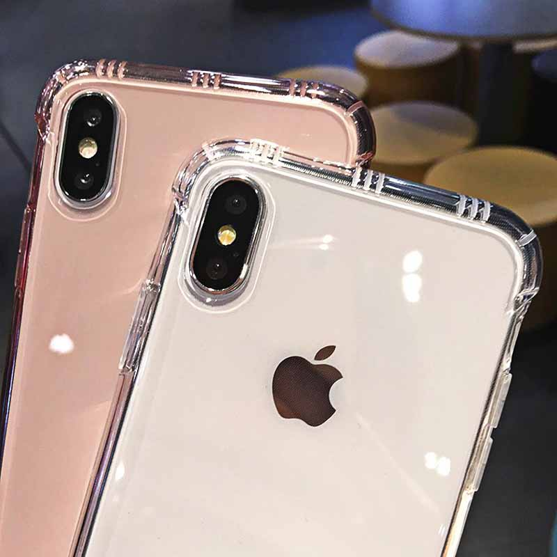 Shockproof Clear iPhone X, XR, XS Max - Iphone 6, 7, 8 Case 8