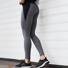 2020 New Hot sale Women's Yoga Leggings Fitness Sports Exercise Running Jogging Pants Patchwork Tights Pants ropa mujer gym tops