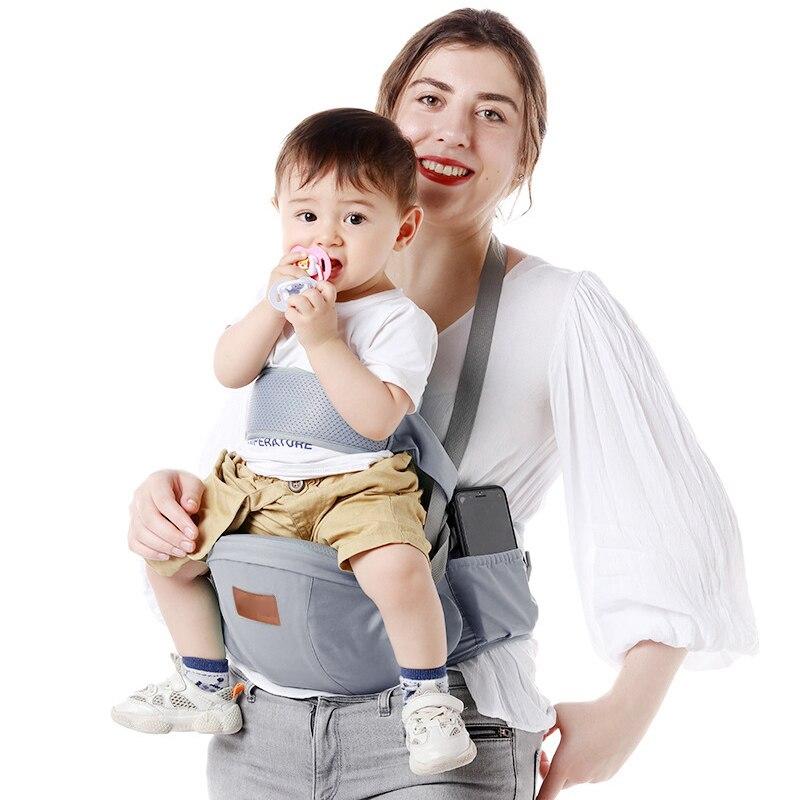 Baby Carrier Seat Belt Baby Waist Stool Sling For Newborns Breathable Kangaroo For Kids Single Shoulder Backpack