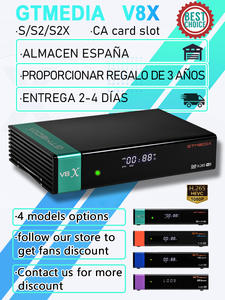 Receptor FTA Gt Media Wifi V8 Nova V8 Honor DVB-S2 H.265 in 1080P Built by V8X Powered