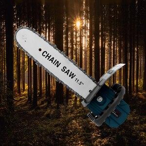 """Image 5 - Meuleuse dangle électrique industrielle, support à chaîne 11.5 """"changé 100 125 150, polisseuse dangle, convertisseur de support à chaîne, outil de bricolage"""