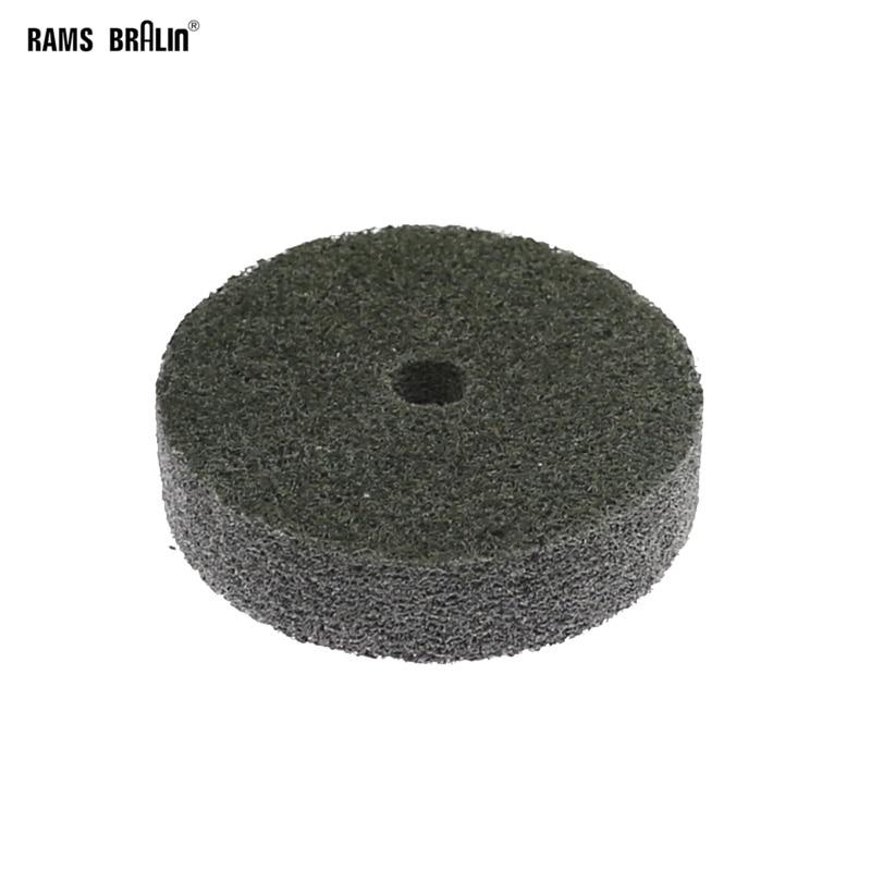 1 Piece 75*20*10mm Non-woven Unitized Polishing Wheel 7P P180 For Metal Surface Finishing