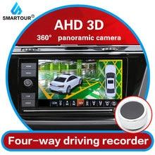 Smartour – caméra 3D AHD DVR 1080P Fisheye, 360 degrés, système de vision panoramique, 4 voies