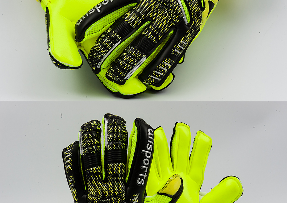 Professional Goalkeeper Gloves With Finger Protection 13