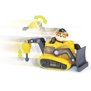 Image 4 - Orijinal Paw devriye oyuncak seti oyuncak araba köpek Everest Apollo izci Ryder Skye kaydırma aksiyon figürü Anime Model oyuncaklar çocuklar için hediye