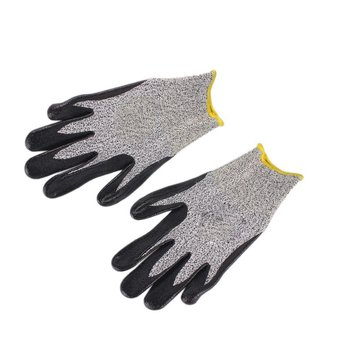 цена на 1 Pair Anti-Abrasion Cut Resistant Safety Labor Protective Gloves Electric Welding Soldering Metal Industrial Tactical Gloves