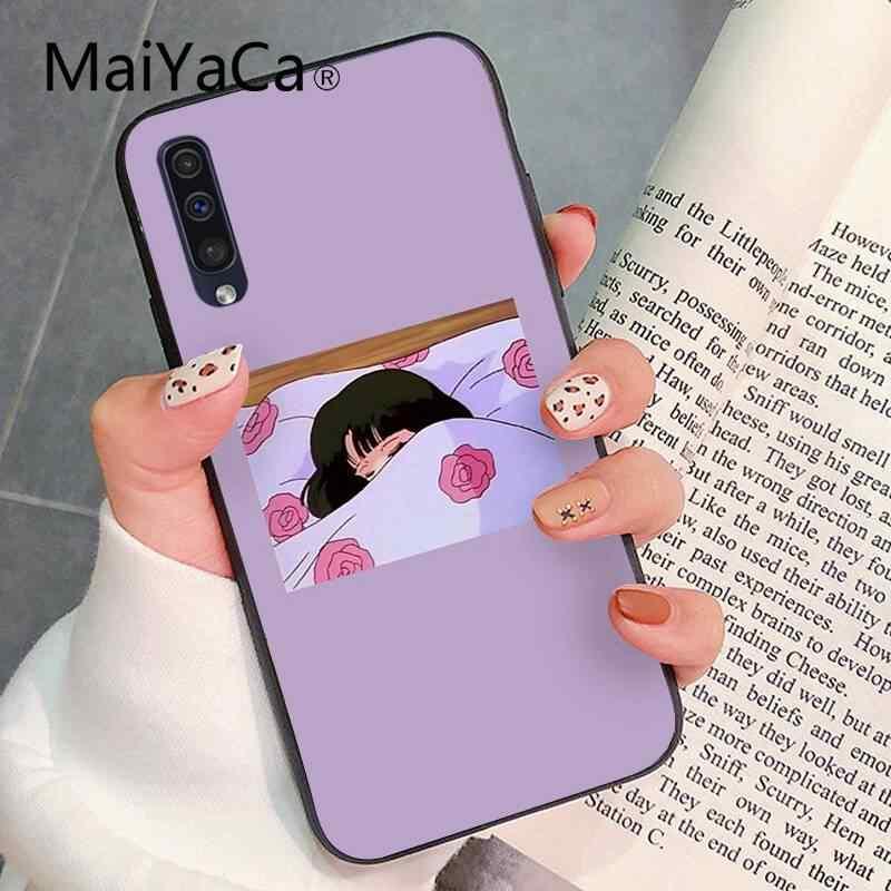 MaiYaCa 귀여운 미적 패션 애니메이션 소녀 DIY 럭셔리 하이 엔드 수호자 PhoneCase 삼성 갤럭시 S9 플러스 S3 S6 7 8 9 S10 E S9