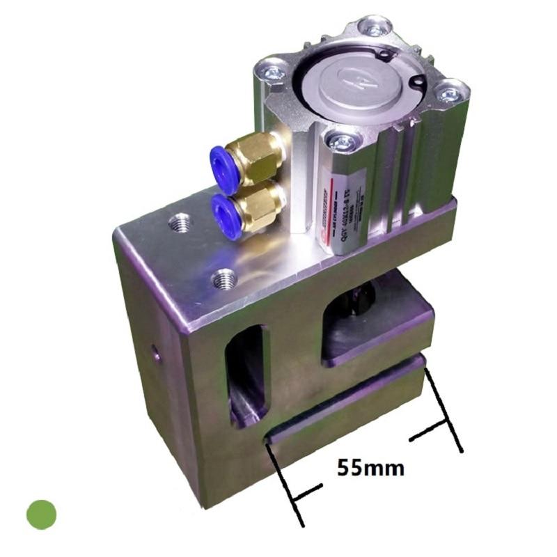 Pneumatic Punching Machine 10MM Round Hole Puncher Plastic Film Bag Portable US