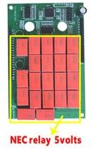 Delphis VD DS150E CDP PRO PLUS 전용 빨간색 nec 릴레이 PCB 보드가있는 Best V3 V3.0