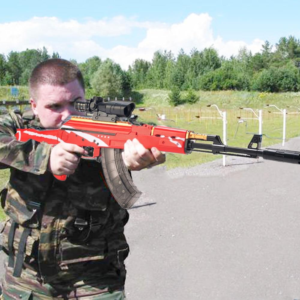 AKM AK 47 Manual Water Bullet Gun 94cm Large Size Airsoft Air Guns Toys арбизы орбизы Toy Guns For Boys Glock Gift