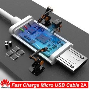 Оригинальный кабель Micro USB HUAWEI для быстрой зарядки, поддержка 5 В/9 в 2 А, дорожная Зарядка для HUawei P7 P8 P9 P10 Lite Mate 7 8 s Honor 8X 8C|Кабели для мобильных телефонов|   | АлиЭкспресс