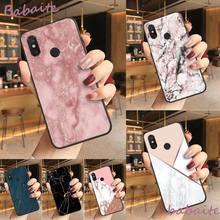 Babaite gold marble Line sparkle TPU Soft Silicone Phone Case Cover For Redmi note 8 8Pro 8T 6pro Redmi 8 7A 6A Xiaomi mi 8 9