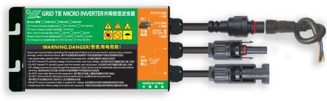 Новинка 260 Вт/300 Вт/350 Вт микро инвертор с сеткой MPPT входное напряжение фотоэлектрический поворот 230 В/В переменного тока Гц простая и практичная серия