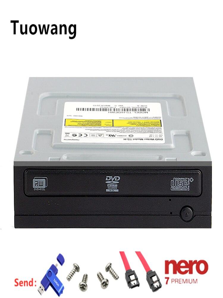 Подходит для Samsung настольный компьютер DVD RW данных файл с фильмом многократного dvd привод устройство записи компакт дисков SATA Встроенный 24x|Оптические дисководы| | АлиЭкспресс