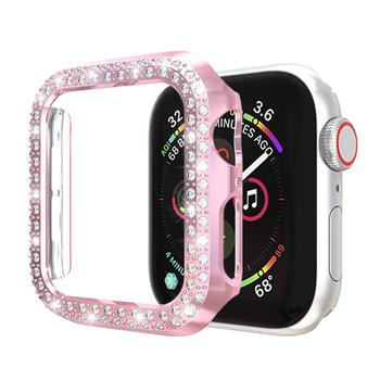 Double Rows Diamond Case for Apple Watch 5