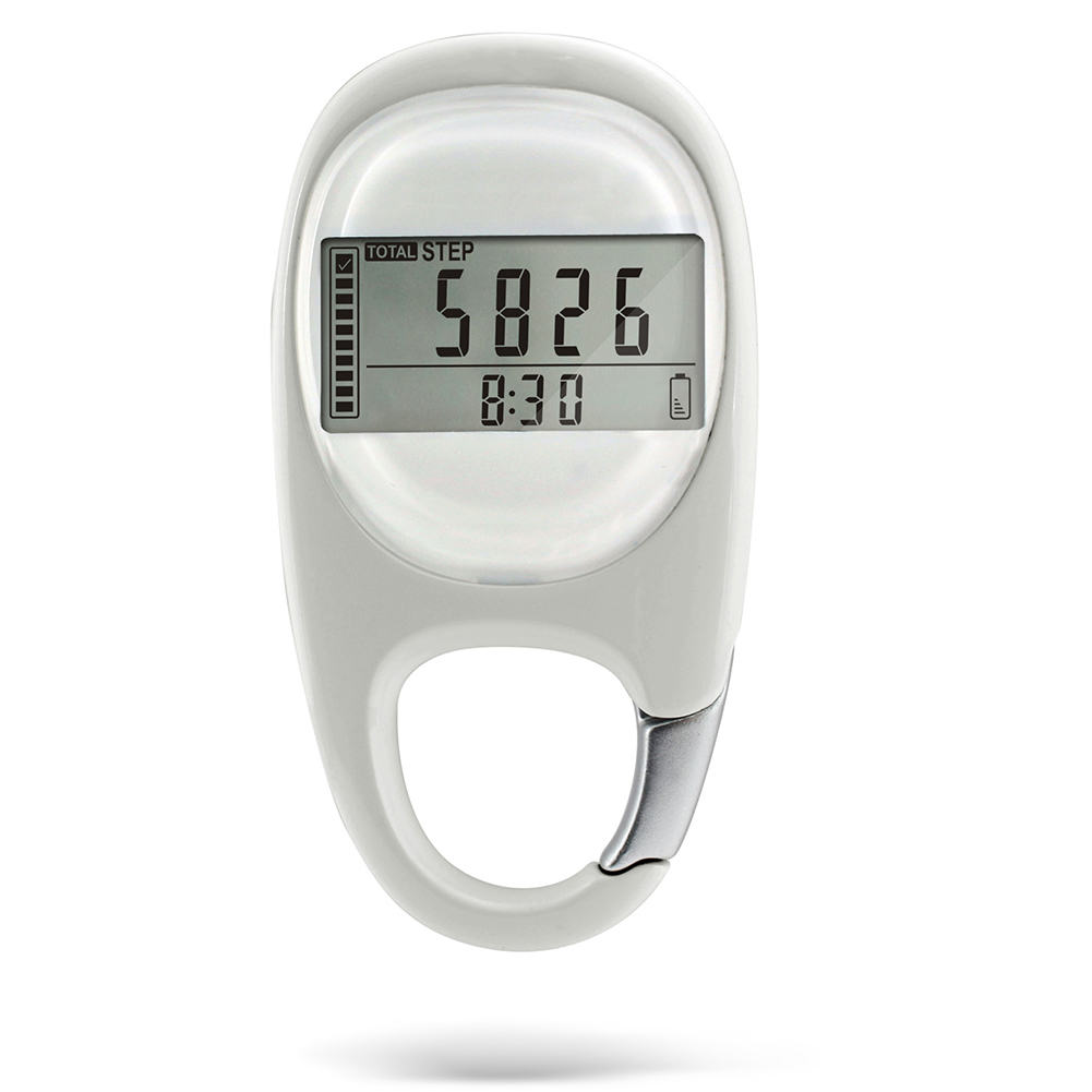 Induction Silent Step Counting Digital 3D Fitness Pedometer Multi-function Mini Exercise Walking Distance Calorie Portable